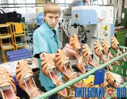 Модернизация «Белвеста» почти вдвое увеличит объемы производства обуви на предприятии