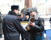 Ключи от новых машин и награду Святого Георгия получили лучшие отделы внутренних дел области