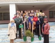 500 деревьев посадили полочане к 500-летию книгопечатания в рамках Недели леса