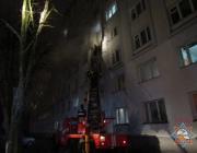 При пожаре в витебском общежитии эвакуировано 57 человек, среди них 27 детей
