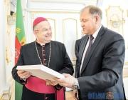 Апостольский Нунций в Беларуси посетил с ознакомительным визитом Витебщину