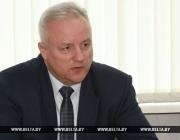Помощник Президента Республики Беларусь – инспектор по Витебской  области Александр Позняк провел личный прием граждан в Орше