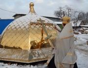Купола установлены на храм святого Владимира в Толочине