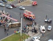 В Витебске судят милиционера, который на патрульном авто врезался  в маршрутку