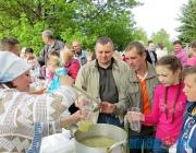 Троицкий фестиваль впервые прошел в Бешенковичском районе