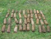 35 артиллерийских снарядов времен Второй мировой нашли  в Орше на частном подворье