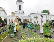День памяти святой Евфросинии Полоцкой собрал в Полоцке тысячи паломников со всей республики и зарубежья