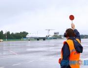 Витебский аэропорт возобновил обслуживание регулярных рейсов