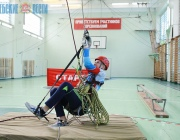 Областные соревнования по технике пешеходного туризма в закрытых помещениях состоялись в Витебске (+ФОТО)