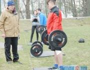 Соревнования по кроссфиту и мастер-класс по американскому футболу провели в Витебске (+ФОТО, ВИДЕО)