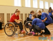 Открытый чемпионат Беларуси по бочче среди инвалидов прошел в Витебске (+ВИДЕО)