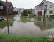 Браслав затопило из-за сильных дождей