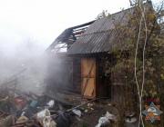 На пожаре в Полоцке погиб мужчина