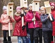 Скворечники и синичники развешают в Витебской области на Международный день птиц