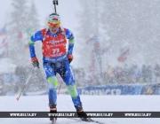 Надежда Скардино седьмая, Дарья Домрачева замыкает первую дюжину зачета Кубка мира по биатлону