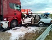 Полочанин на 9-й день после получения водительских прав попал в ДТП под Витебском