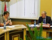 Вице-премьер Василий Жарко провел прием граждан в Миорском районе