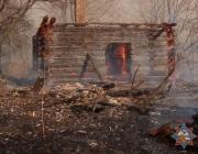В Толочинском районе три дома сгорели из-за пала травы