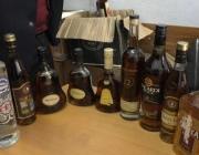 Нелегальную партию элитного алкоголя изъяли в Витебске