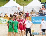 Сборная Беларуси стала победителем 7-го международного турнира по пляжному футболу «Кубок дружбы» в Витебске