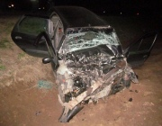 В Оршанском районе легковушка столкнулась с фурой