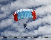 Под Витебском проходит чемпионат Беларуси по парашютному спорту