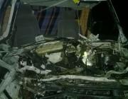 В Оршанском районе микроавтобус столкнулся с грузовиком