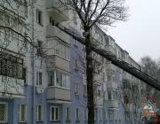 При пожаре в многоэтажке в Новополоцке спасены двое взрослых и трехмесячный ребенок