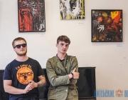 Абстракцию с классикой объединила выставка молодых художников из Гомеля в витебском арт-центре VZAP