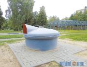 Подземные контейнеры для сбора мусора установили в Новополоцке