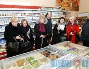 Мясникович в Поставах: «В развитии торговли на селе нельзя забывать о жителях отдаленных деревень»