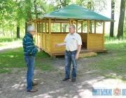 Старинный парк в Толочине обрел новую жизнь по инициативе местных жителей