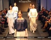 Деловую одежду изо льна представил Оршанский льнокомбинат на показе «Взгляд в будущее» в Минске