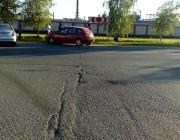 Мотоциклист врезался в стену заводской проходной в Новополоцке и погиб