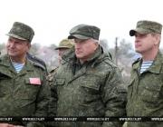 Александр Лукашенко об учениях «Запад-2017»: «Цели, которые ставились, достигнуты»