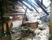 В Лепеле на территории местного рынка сгорели 11 торговых павильонов