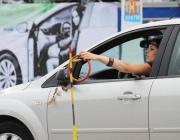 Соревнования среди автоледи устроили в Россонском районе