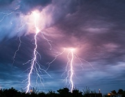 Женщина погибла от удара молнии в Браславском районе