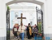 Православные из Глубокого отправились крестным ходом в Полоцк в честь святой Евфросинии Полоцкой