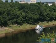 Прогулочные теплоходы начали курсировать по Западной Двине в Витебске