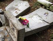 На одном из витебских кладбищ вандалы повредили надгробия и кресты