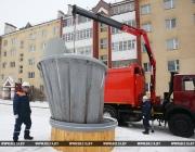 В Новополоцк поступили машины для обслуживания подземных мусорных контейнеров