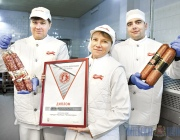 Изделия Витебского мясокомбината получили признание народного конкурса «Чемпион вкуса-2017»