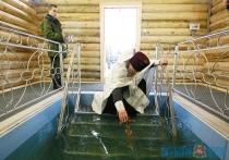 Витебские военнослужащие приняли участие в крещенских купаниях (+ФОТО)