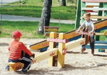 Жители и власти Лиозненского района занялись благоустройством детских площадок