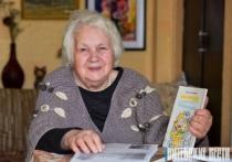 «Наверное, я больна поэзией». Старейшая писательница Витебской области Маина Боборико отмечает 90-летие