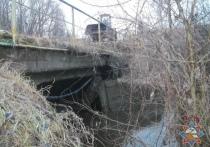 В Чашникском районе приостановлено движение по мосту через мелиоративный канал
