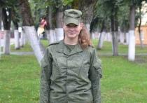 Прапорщик из Витебска Валерия Козлова продемонстрировала военные навыки на учениях «Щит Союза-2019»