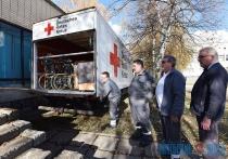 Гуманитарный груз медицинского назначения из Германии поступил в Витебск