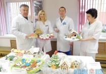 В Браславе медики соревновались в изготовлении рождественских пряников